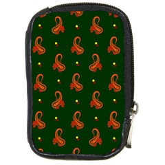 Paisley Pattern Compact Camera Cases