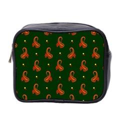 Paisley Pattern Mini Toiletries Bag 2-Side