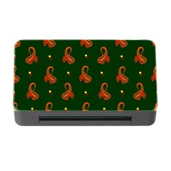 Paisley Pattern Memory Card Reader with CF