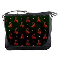 Paisley Pattern Messenger Bags