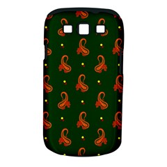 Paisley Pattern Samsung Galaxy S III Classic Hardshell Case (PC+Silicone)