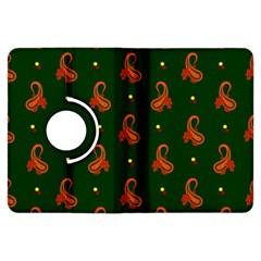 Paisley Pattern Kindle Fire Hdx Flip 360 Case