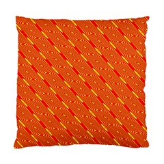 Orange Pattern Background Standard Cushion Case (One Side)