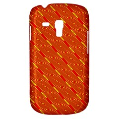 Orange Pattern Background Galaxy S3 Mini