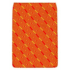 Orange Pattern Background Flap Covers (s)