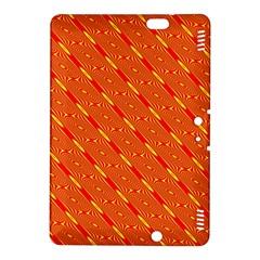 Orange Pattern Background Kindle Fire Hdx 8 9  Hardshell Case