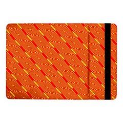 Orange Pattern Background Samsung Galaxy Tab Pro 10 1  Flip Case