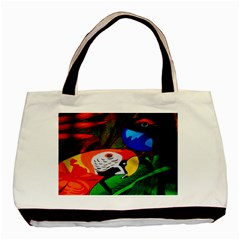 Papgei Red Bird Animal World Towel Basic Tote Bag
