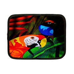 Papgei Red Bird Animal World Towel Netbook Case (Small)