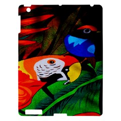 Papgei Red Bird Animal World Towel Apple iPad 3/4 Hardshell Case