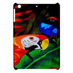 Papgei Red Bird Animal World Towel Apple iPad Mini Hardshell Case