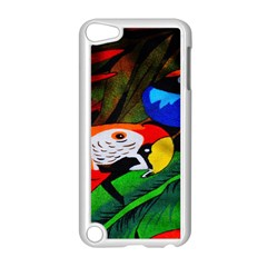Papgei Red Bird Animal World Towel Apple Ipod Touch 5 Case (white)