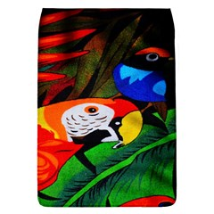 Papgei Red Bird Animal World Towel Flap Covers (l)