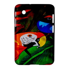 Papgei Red Bird Animal World Towel Samsung Galaxy Tab 2 (7 ) P3100 Hardshell Case