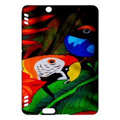 Papgei Red Bird Animal World Towel Kindle Fire Hdx Hardshell Case