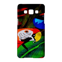 Papgei Red Bird Animal World Towel Samsung Galaxy A5 Hardshell Case