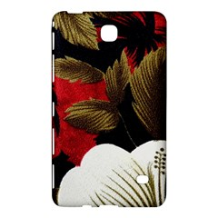 Paradis Tropical Fabric Background In Red And White Flora Samsung Galaxy Tab 4 (8 ) Hardshell Case