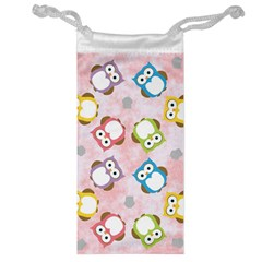Owl Bird Cute Pattern Jewelry Bag