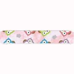 Owl Bird Cute Pattern Small Bar Mats