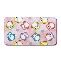 Owl Bird Cute Pattern Medium Bar Mats