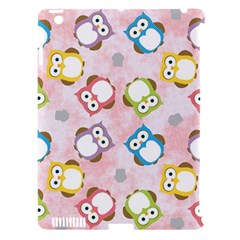 Owl Bird Cute Pattern Apple iPad 3/4 Hardshell Case (Compatible with Smart Cover)