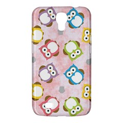 Owl Bird Cute Pattern Samsung Galaxy Mega 6 3  I9200 Hardshell Case