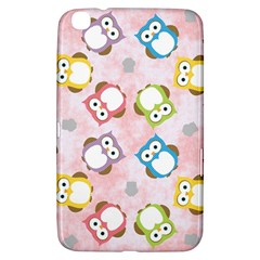 Owl Bird Cute Pattern Samsung Galaxy Tab 3 (8 ) T3100 Hardshell Case