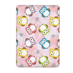 Owl Bird Cute Pattern Samsung Galaxy Tab 2 (10 1 ) P5100 Hardshell Case