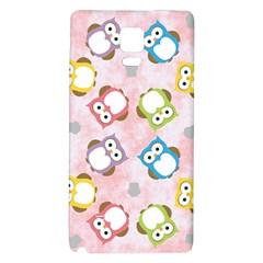 Owl Bird Cute Pattern Galaxy Note 4 Back Case