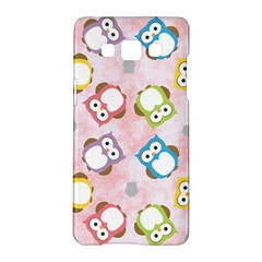 Owl Bird Cute Pattern Samsung Galaxy A5 Hardshell Case