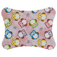 Owl Bird Cute Pattern Jigsaw Puzzle Photo Stand (Bow)