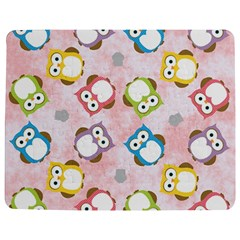 Owl Bird Cute Pattern Jigsaw Puzzle Photo Stand (Rectangular)