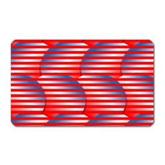 Patriotic  Magnet (Rectangular)