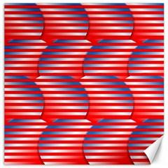 Patriotic  Canvas 12  x 12