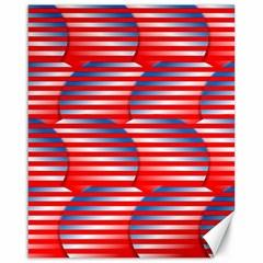 Patriotic  Canvas 16  x 20