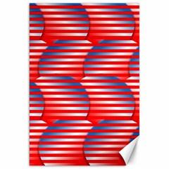 Patriotic  Canvas 20  X 30