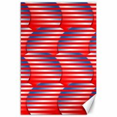 Patriotic  Canvas 24  x 36