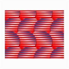 Patriotic  Small Glasses Cloth (2-Side)