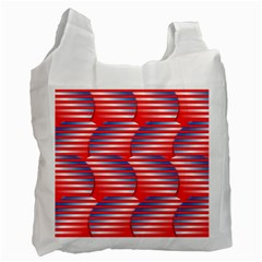 Patriotic  Recycle Bag (Two Side)