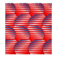 Patriotic  Shower Curtain 66  x 72  (Large)