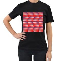 Patriotic  Women s T-Shirt (Black)