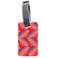 Patriotic  Luggage Tags (One Side)