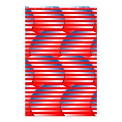 Patriotic  Shower Curtain 48  x 72  (Small)