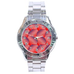 Patriotic  Stainless Steel Analogue Watch