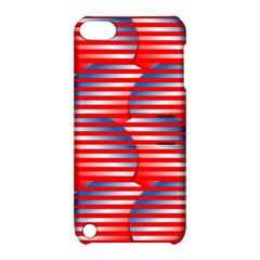 Patriotic  Apple Ipod Touch 5 Hardshell Case With Stand