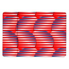 Patriotic  Samsung Galaxy Tab 10.1  P7500 Flip Case