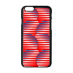 Patriotic  Apple Iphone 6/6s Black Enamel Case