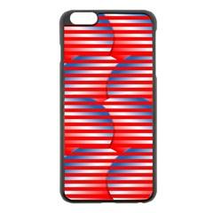 Patriotic  Apple Iphone 6 Plus/6s Plus Black Enamel Case