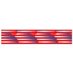 Patriotic  Flano Scarf (small)