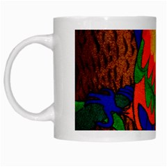 Parakeet Colorful Bird Animal White Mugs